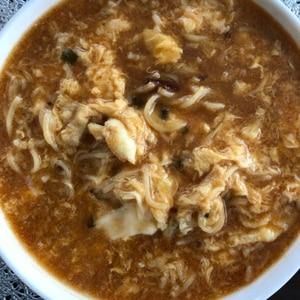中華三昧♡酸辣湯麺