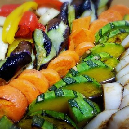☆超簡単☆色々野菜の焼き浸し♪