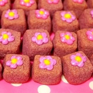 紫芋のショートブレッド