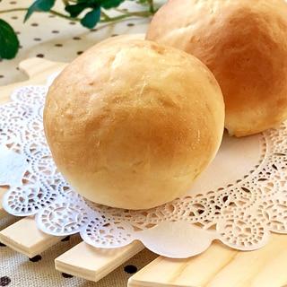 1時間で完成♫ふんわり♡基本の丸パン