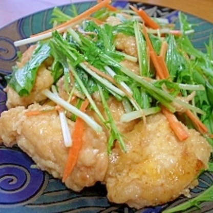 鶏ムネ南蛮☆野菜たっぷり~♪