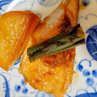 ぶりの味噌照り焼き