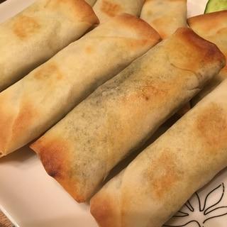 トースターで☆焼き春巻き