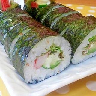 かにかま&きゅうりの巻き寿司