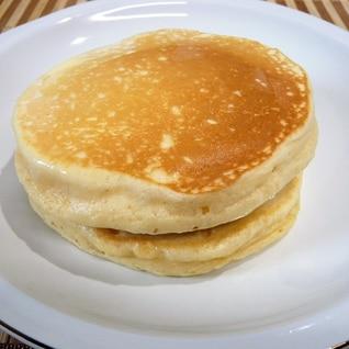 片栗粉でふわふわパンケーキ