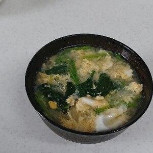 ふわふわ卵の味噌汁