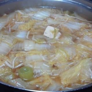 ダイエットに! たっぷり白菜鍋