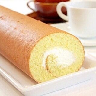 【ママパン】基本のロールケーキ