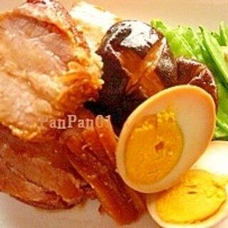 圧力鍋で煮豚(豚ばらブロック肉)