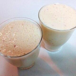 美的 林檎とバナナのオレンジミルクジュース