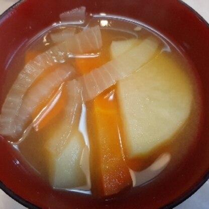 根菜味噌汁であたたまりました。有難うございました。
