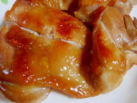 ポン酢でさっぱり鶏モモ照り焼き