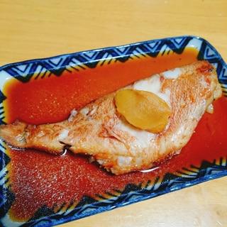 冷凍のまま調理☆赤魚の煮付け