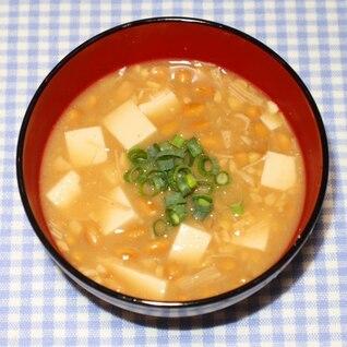 リュウジ☆バズレシピ☆乾燥エノキと乾燥納豆で納豆汁
