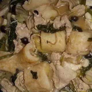 きりたんぽの煮物