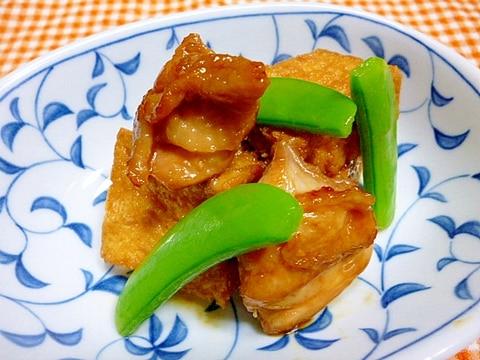 鶏肉と厚揚げの旨煮