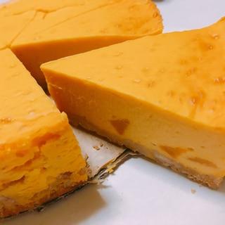 簡単!濃厚かぼちゃチーズケーキ