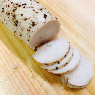 簡単!炊飯器で鶏ハム
