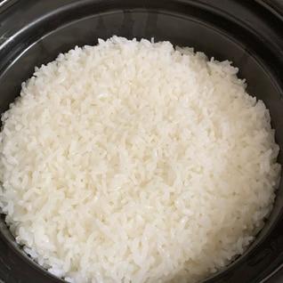 火加減不要!計量簡単!土鍋ご飯♪