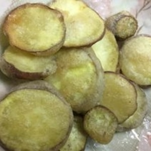 玉子不使用シナモン風味のホクホクさつま芋の天ぷら