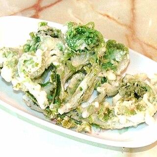 春の山菜でサクサクに!こごみの簡単天ぷら♪