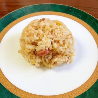 白菜とウィンナーの卵チャーハン