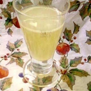 爽やかな味わい☆レモン梅酒白ワイン♪