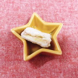 【離乳食後期】ツナとさつまいもの食パンサンド