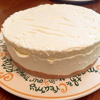 激ウマ濃厚!簡単レアチーズケーキ