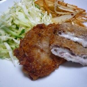 豚肉とチーズ☆ミルフィーユかつ