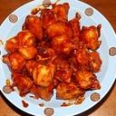 若鶏ぼんじり(尾)の炒め物