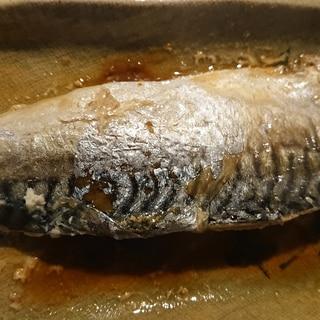 鯖の梅味噌煮
