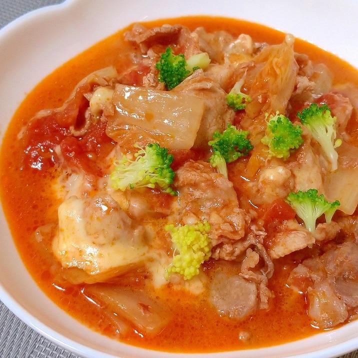白菜と豚肉のトマトソース煮☆
