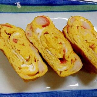 カニかまの卵焼き