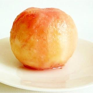 固い桃の皮の剥き方