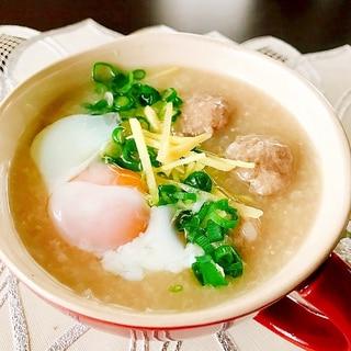 満足の一杯!タイの定番朝食とろとろ粥✦ジョーク✦