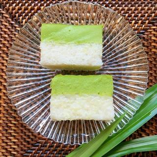 クエセリムカ: パンダンとココナッツミルクのおはぎ