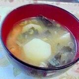 里芋の味噌汁♪