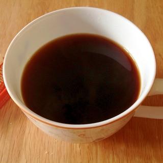 オレンジの香りのチョコ入りコーヒー