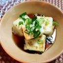 もうひと品欲しい時にフライパンで揚げだし豆腐