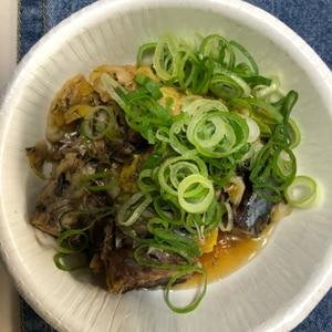 白菜のサバ缶煮
