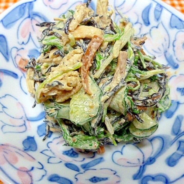 ひじきサラダ 2