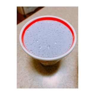 簡単ブルーベリーミルク