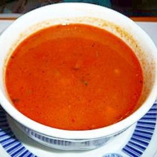おかずになる濃厚トマトスープ