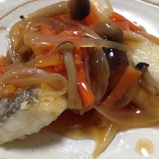 魚を美味しく食べよう!白身魚の甘酢あんかけ