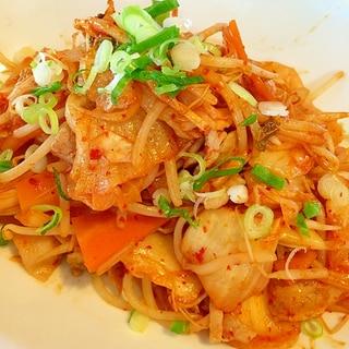 豚キムチ野菜炒め