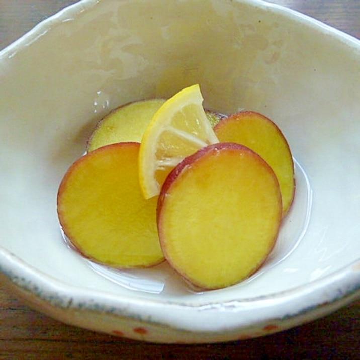 爽やかな甘味と酸味☆さつま芋のレモン煮