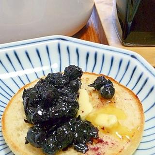 健康に良いアロニアジャム★ブラックフーズを食卓へ2