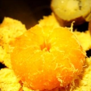 イージースモーカーで作る、石焼き芋ならぬ石焼き蜜柑