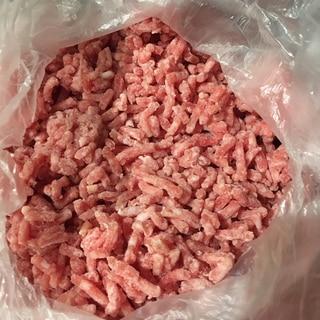 必要分だけ使える!ひき肉をパラパラに冷凍する方法